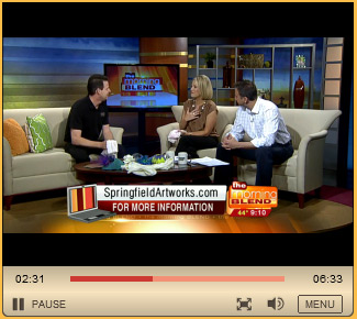 The Morning Blend features Springfield Artworks on their Spary County Spotlight